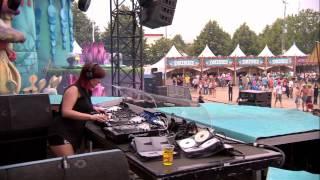 Orla Feeney (1) at Tomorrowland 2012
