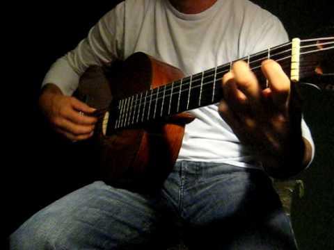 Flamenco Guitar (Soleá) Melody 7-8-9 (3) w/ Cierre
