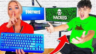 Wireless Keyboard Prank HACK on FaZe Jarvis STREAM (Fortnite)