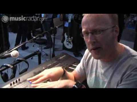 Yamaha S70XS keyboard at LIMS 2009