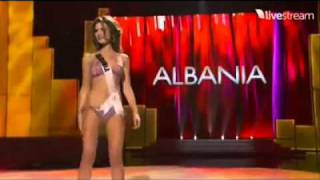 Xhesika Berberi - Miss Universe Albania 2011 - Preliminary Competition