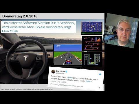 TESLA wieder PLEITE | GigaFactory in DE | Atari im Model 3 (NEWS KW31/2018)