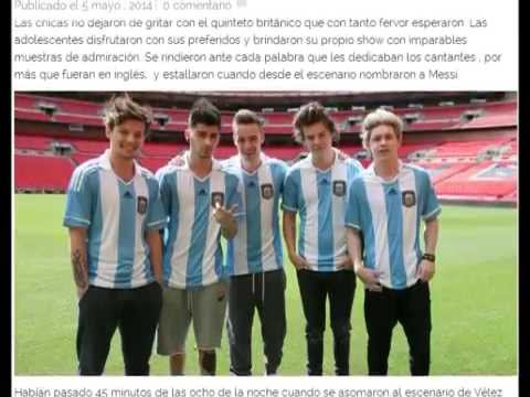One Direction en Argentina 2014