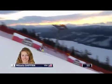 Mikaela Shiffrin - Tenth Place - Giant Slalom - ARE Sweden