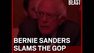 Bernie Slams the GOP Tax Reform