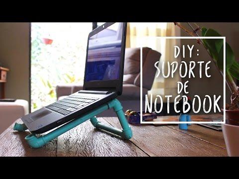 ✂ DIY: Suporte para notebook de cano PVC!