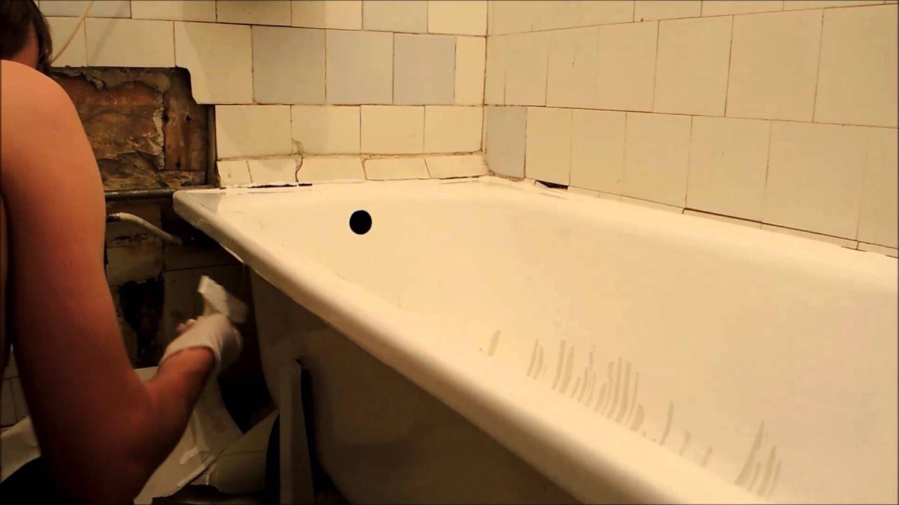 Устанавливаем ванну своими руками фото