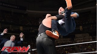 Download Shane McMahon fights back against The Undertaker: Raw, March 14, 2016 3Gp Mp4
