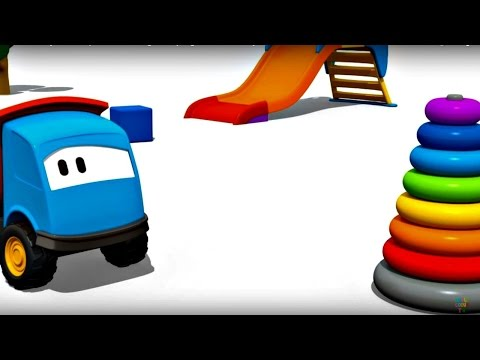 Meraklı kamyon Leo ve oyuncak piramidi – eğitici çizgi film – türkçe