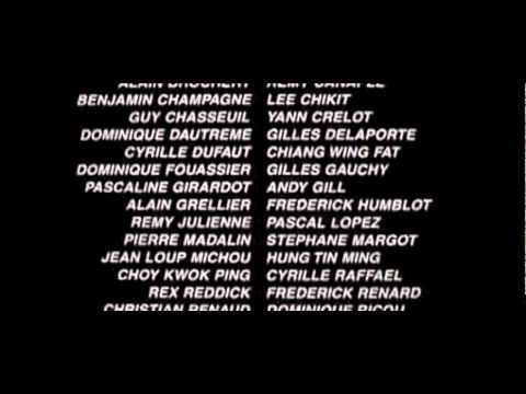 double team movie credits youtube
