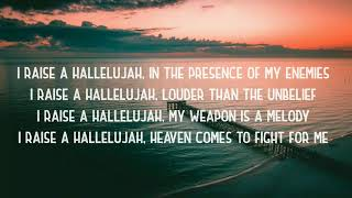 Raise a Hallelujah-Bethel Music-Lyrics