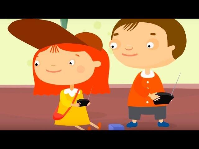 Мультфильм про машинки -Доктор Машинкова  - Подарок на день рождения - мультфильм для детей
