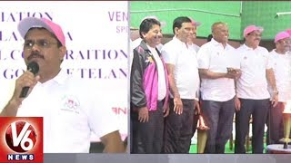 International Olympic Day Run 2018 Grandly Commences In Hyderabad