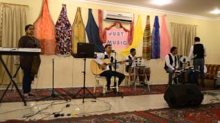 Gerua Dilwale song  - Salman Shah & Neha Karhadkar Live Performance on Guitar