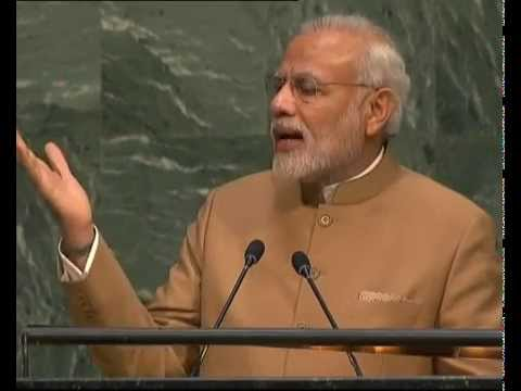 PM Modi's address at UN Summit for the adoption of the Post-2015 Development Agenda in New York