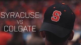 Visual Recap   Syracuse vs. Colgate