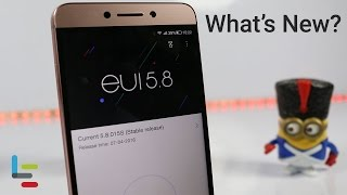 LeEco Le 2 EUI 5.8 Update Features - Finally! App Lock is here