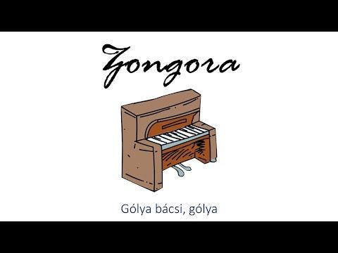 Hangszer ovi - Gólya bácsi, gólya (zongora)