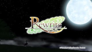 "Rewrite TV Anime OP 2 ""End of the World"" ver.2"