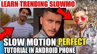 SLOW MOTION TRENDING TIK TOK TUTORIAL ! How To Make TikTok Trending Slow Fast Videos On Android