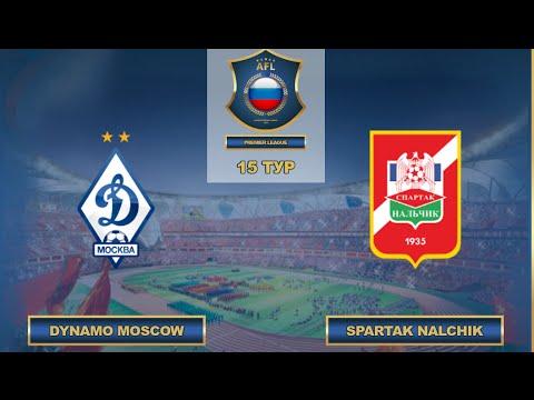 AFL. Russia. Premier League. 15 Tour. Dynamo Moscow - Spartak Nalchik