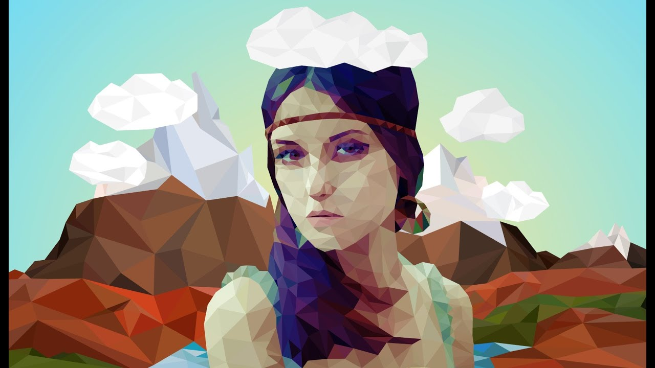 Vector art photoshop