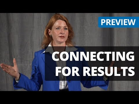 Connecting For Results -  Business Skills Training Video Preview from Seminars on DVD