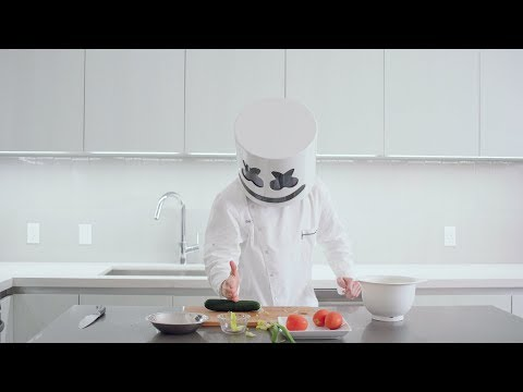 How To Make Fattoush Salad  Cooking with Marshmello