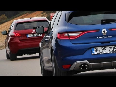 Peugeot 308 vs Renault Megane - Karşılaştırma