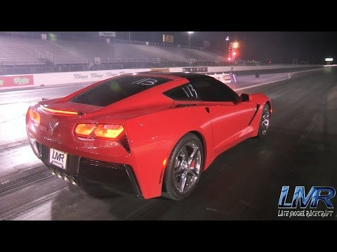 Stock C7 Corvette - 11.47 @ 121.9mph - LMR Tune Only
