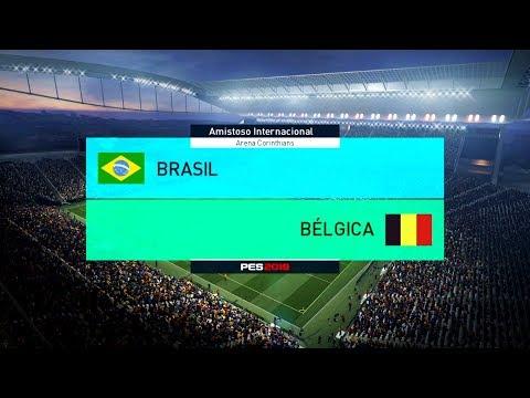 Acompanhe aqui no canal Curtindo Games Adoidado , o jogo entre Brasil x Bélgica, no game Pro Evolution Soccer 2018 ( Pes 18 ), jogado na Arena Corinthians, Jogo válido pelo Amistoso Internacion...