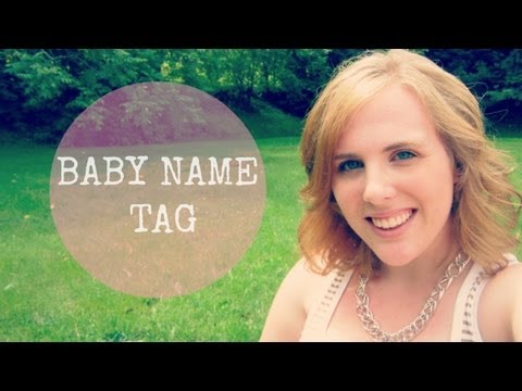 Baby Name Tag