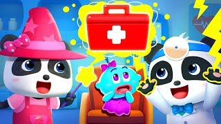 Halloween Monster Hospital | Doctor Pretend Play | Halloween Song | Halloween Cartoon | BabyBus