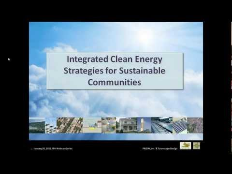 Integrated Clean Energy Strategies for Sustainable Communities