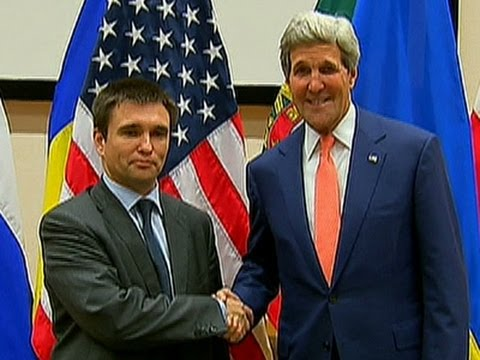 Raw: Kerry Meets Ukrainian Foreign Minister