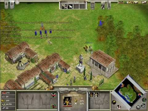Age of Mythology - Fall of the Trident Campaign - 03 Scratching the Surface Part [1/3]