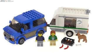 LEGO City 2016 Van & Caravan review! set 60117