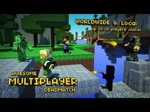 Pixel Gun 3D Update Minecraft Style Edition iOS Multiplayer Review w Gameplay