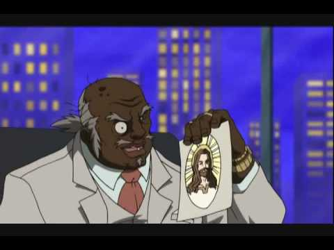The Boondocks Reverend Ruckus white supremacist Video