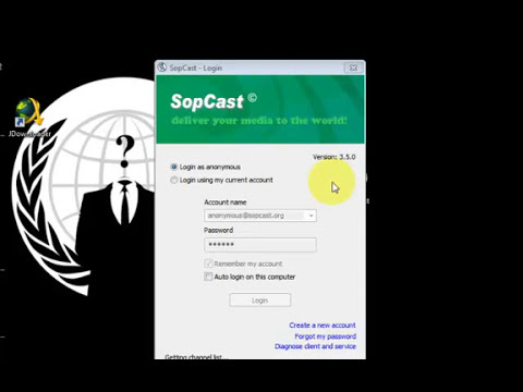 How to use sopcast links