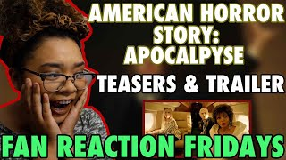 American Horror Story: Apocalypse Teasers & Trailer - Reaction & Review   Fan Reaction Fridays