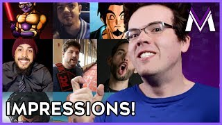DBZ YOUTUBER & TEAM FOUR STAR IMPRESSIONS | 200,000 Subscriber Special