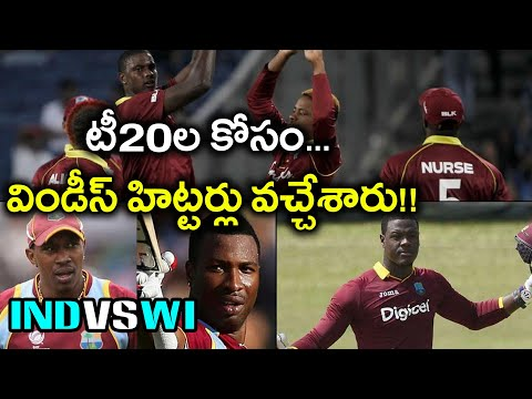India Vs West Indies 2018,T20I : Brathwaite, Pollard Sweat It Out At Eden Gardens | Oneindia Telugu
