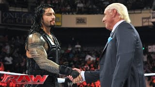 Ric Flair weighs in on the WWE World Heavyweight Championship Fatal 4-Way Match at WWE Battleground: