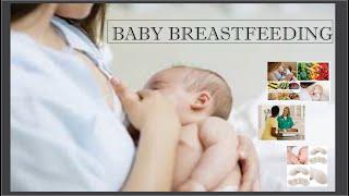 HOW TO BABY BREASTFEEDING