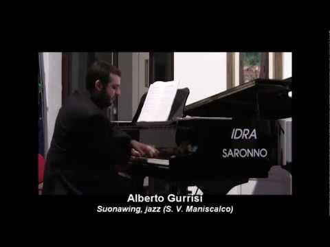 SUONASWING, jazz (Salvatore V. Maniscalco) – Alberto Gurrisi al pianoforte