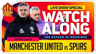 MANCHESTER UNITED vs TOTTENHAM | With Mark Goldbridge LIVE