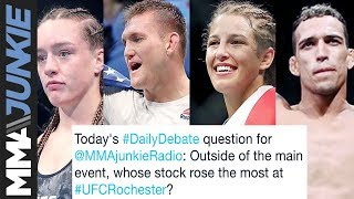 Daily Debate: Whose stock rose the most at UFC Rochester?