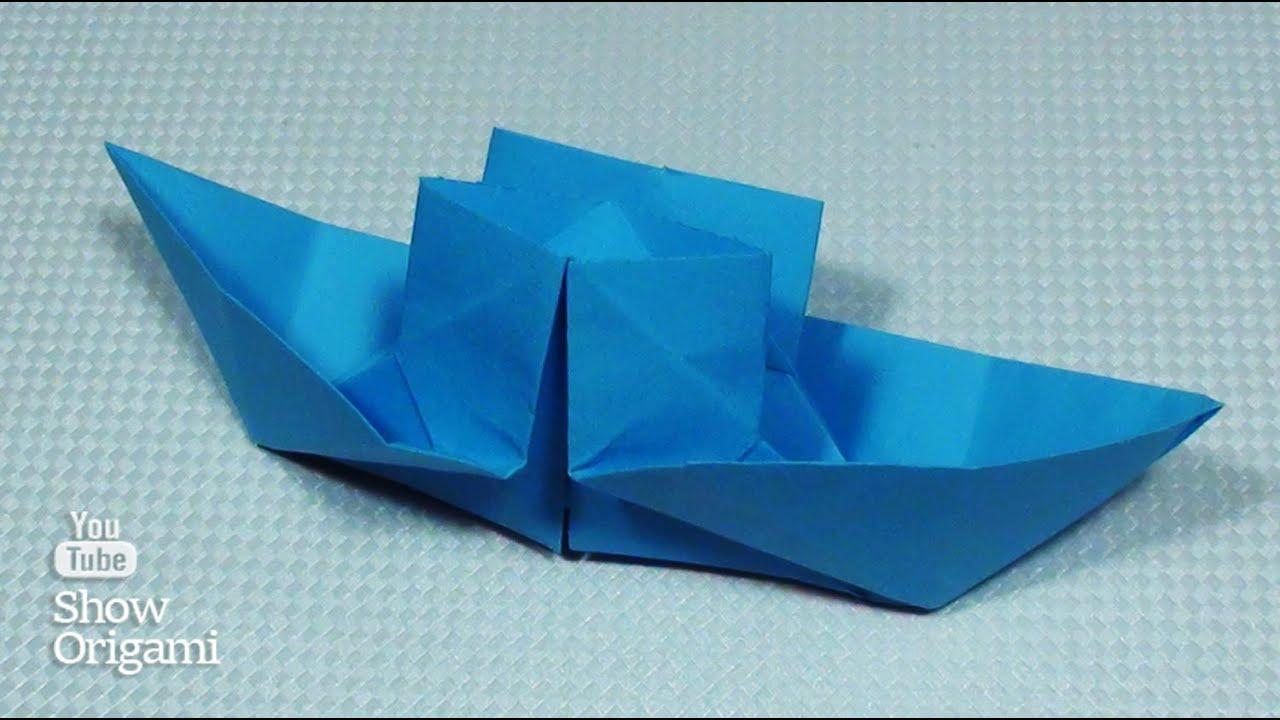 Поделка как сделать кораблик из бумаги своими руками