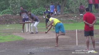 kiran Pawar Batting superking Trophy owale 2017(Anand Tarekar)
